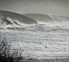 Another Storm coming to Cornwall by Malcolm Chant