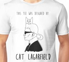 Cat Lagarfield  Unisex T-Shirt