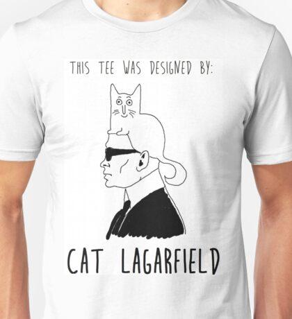 Cat Lagarfield  Unisex T-Shirt