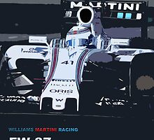 WILLIAMS MARTINI RACING by harrisonformula