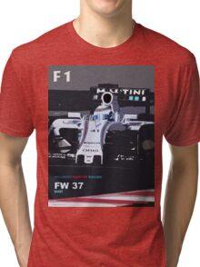 WILLIAMS MARTINI RACING Tri-blend T-Shirt