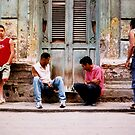 havana street chess  by opiumfire