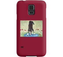 Poppies 'N' Puddles  Samsung Galaxy Case/Skin