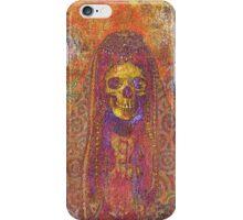 Gothic Decorative Skeleton iPhone Case/Skin