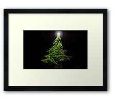 Little Tree-Challenge by Owlspook Framed Print