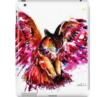 Flying Owl iPad Case/Skin