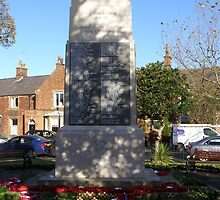 Lytham War Memorial by Barry Norton