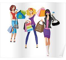 Fashion girls Poster