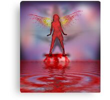 Blood Bath Fairy Canvas Print