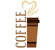 Coffee! I love coffee! Photographic Print