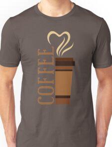Coffee! I love coffee! Unisex T-Shirt