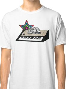 Synth Cat Classic T-Shirt