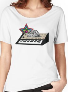 Synth Cat Women's Relaxed Fit T-Shirt