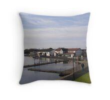 Fairhaven Lake Throw Pillow