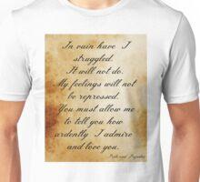 Darcy's Proposal Unisex T-Shirt