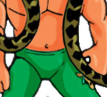 "Hasbro Jake ""The Snake"" Roberts Sticker"