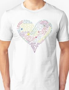 Quote heart T-Shirt