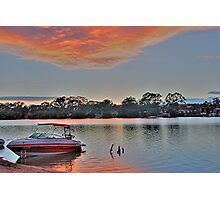 Murray Morning, Mannum. S.A Photographic Print