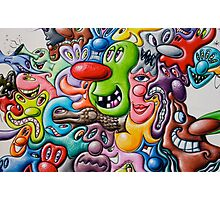 graffiti3 Photographic Print