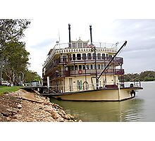 Murray Princess Mannum. S.A Photographic Print