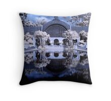 Midnight Palace Throw Pillow