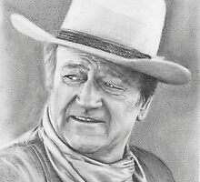 john wayne by Samantha Norbury