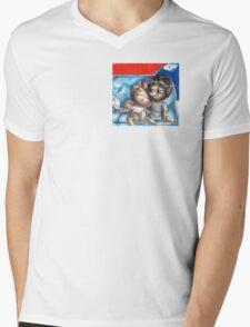 Hannibal chibi pairings - ChillyWilly Mens V-Neck T-Shirt