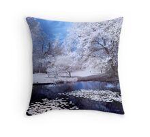 Arboretum Pond Throw Pillow