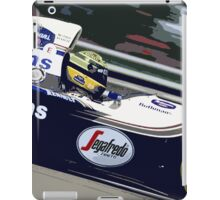 Ayrton Senna Williams Renault iPad Case/Skin