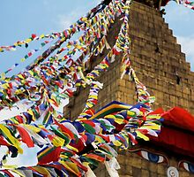 Boudhanath Stupa by Tom Page