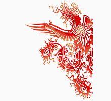 Phoenix Stencil - Fancy Red Version Unisex T-Shirt