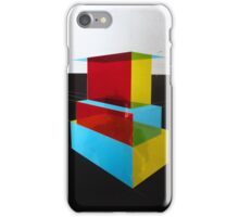 Bauhaus Primary Coloured Architectural Design  iPhone Case/Skin
