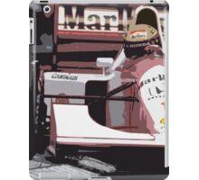 Ayrton Senna Marlboro McLaren iPad Case/Skin
