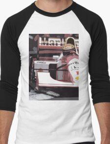 Ayrton Senna Marlboro McLaren Men's Baseball ¾ T-Shirt