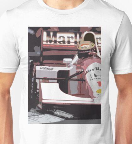 Ayrton Senna Marlboro McLaren Unisex T-Shirt