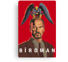 The Birdman Canvas Print