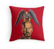 The Birdman Throw Pillow