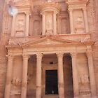 lost city of Petra, Jordan by chord0