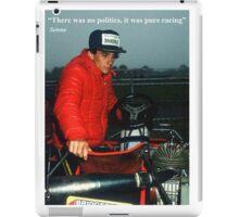 Ayrton Senna Karting iPad Case/Skin