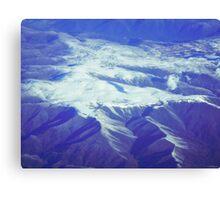 Snowcaps Canvas Print