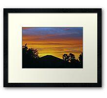 Arizona paintbrush 2 Framed Print