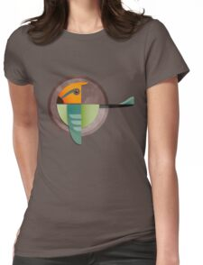 Undiscovered Species - Alpha Green Womens Fitted T-Shirt