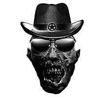 skull sheriff Photographic Print