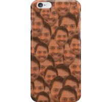 Misha collins face iPhone Case/Skin