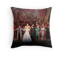 Cast Of Wicked 2 Throw Pillow