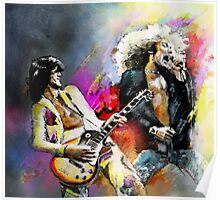 Jimmy Page and Robert Plant Poster