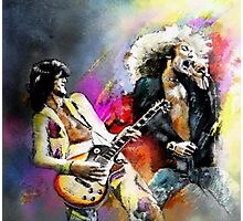 Jimmy Page and Robert Plant Photographic Print