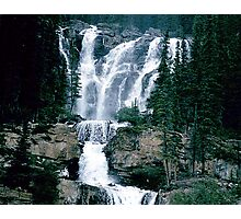 Rocky Mountain Waterfall Photographic Print