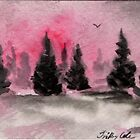 Winter Wonder - ACEO by Trilbycole