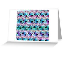 Tie Dye Diamond Greeting Card
